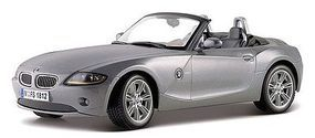 Maisto BMW Z4 Convertible (Met. Grey) Diecast Model Car 1/18 Scale #31654gry