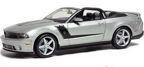 Maisto 2010 Ford Mustang 427R Roush (Met. Silver) Diecast Model Car 1/18 Scale #31669slv