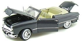 Maisto 1949 Ford Convertible (Met. Grey) Diecast Model Car 1/18 Scale #31682gry