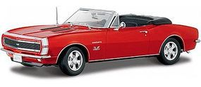 Maisto 1967 Camaro SS396 Convertible (Red) Diecast Model Car 1/18 Scale #31684red