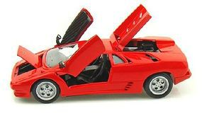 Maisto 1990 Lamborghini Diablo (Red) Diecast Model Car 1/24 scale #31903red