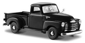 Maisto 1950 Chevrolet 3100 Pickup Truck (Black) Diecast Model Truck 1/24 scale #31952blk