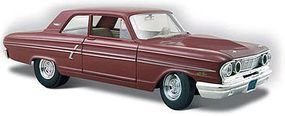 Maisto 1964 Ford Fairlane Thunderbolt (Maroon) Diecast Model Car 1/24 Scale #31957mar