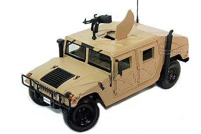 Maisto International Humvee (Tan) -- Diecast Model Truck -- 1/27 scale -- #31974tan