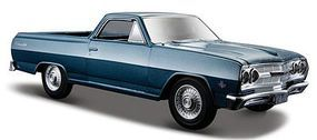 Maisto 1965 Chevrolet El Camino (Metallic Blue) Diecast Model Car 1/24 Scale #31977blu