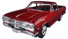 Maisto 1965 Chevrolet El Camino (Met. Red) Diecast Model Car 1/25 Scale #31977red