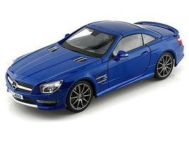 Maisto Mercedes Benz SL63 AMG Hardtop (Met. Blue) Diecast Model Car 1/18 scale #36199blu