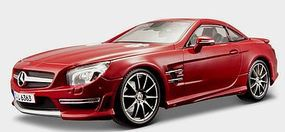 Maisto Mercedes Benz SL63 AMG Hardtop (Red) Diecast Model Car 1/18 scale #36199red