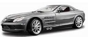 Maisto Mercedes Benz SLR McLaren (Grey) Diecast Model Car 1/18 scale #36653gry