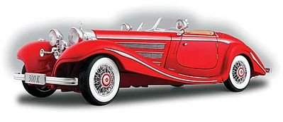 1936 Mercedes Benz 500k Type Special Roadster Red