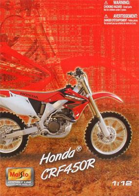 1/12 Assembly Line Honda CRF450R