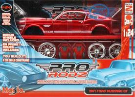 Maisto Custom Shop AL 1967 Mustang GT Metal Metal Body Plastic Model Car Kit 1/24 Scale #39094