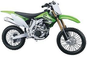 Maisto AL Kawasaki KX450F Plastic Model Motorcycle Kit 1/12 Scale #39175