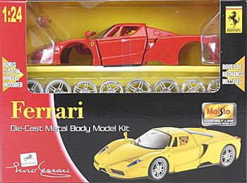 Maisto International AL Ferrari Enzo Metal -- Metal Body Plastic Model Car Kit -- 1/24 Scale -- #39964