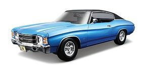 Maisto 1971 Chevelle SS454 Hardtop (Blue) Diecast Model Car 1/18 Scale #890blu