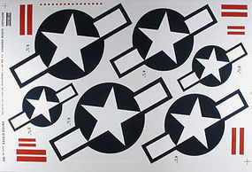Major-Decals Pressure Decal US w/Bars .40