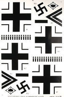 Major-Decals Pressure Decal German WWII .60
