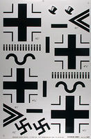 Major-Decals Pressure Decal German WWII .40