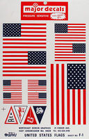 Major-Decals Pressure Decal US Flags