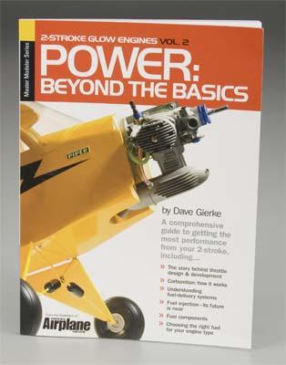 Model Airplane News 2-Strk Engines 2 Power- Beyond Basics -- RC Airplane Book -- #2035