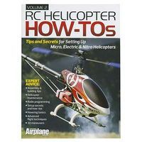 Model-Airplane-News RC Helicopter How Tos Vol. 2 RC Helicopter Book #2046