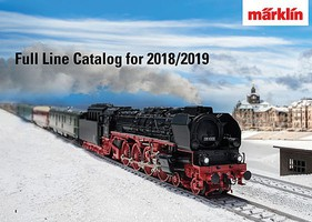 Marklin Marklin Catalog 2018/2019 English Language