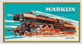 Marklin Marklin Class 01 Steam Locomotive Paint-by-Numbers Set Model Railroad Puzzle Print Sign #15965