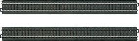 Marklin 3-Rail C Track Straight Sections pkg(2) HO Scale Nickel Silver Model Train Track #20360