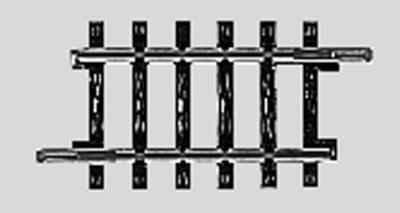 Marklin, Inc (bulk of 10) Bulk of 10 K Track - 1-3/4'' Straight -- HO Scale Nickel Silver Model Train Track -- #2202