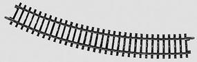 (bulk of 10) Bulk of 10 K-Track 16-3/4, R30 HO Scale Nickel Silver Model Train Track #2231
