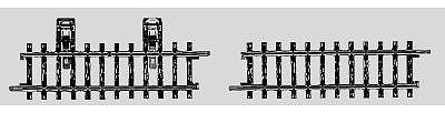 Marklin, Inc K-Track Contact Track Set -- HO Scale Nickel Silver Model Train Track -- #2295