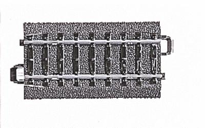 Marklin, Inc (bulk of 10) (bulk of 10) 3-Rail C Track Straight 2-13/16'' -- HO Scale Nickel Silver Model Train Track -- #24071