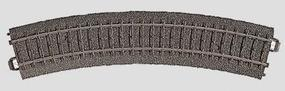 Marklin (bulk of 6) 3-Rail C Track R1 Curve 14-3/16 36cm Radius HO Scale Nickel Silver Model Train Track #24130