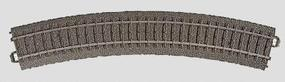 Marklin (bulk of 6) 3-Rail C Track R2 Curve 17-1/4 Radius HO Scale Nickel Silver Model Train Track #24230