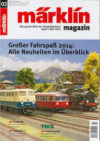 Marklin Marklin Magazine 02/2014 - German Text Model Railroading Catalog #242442