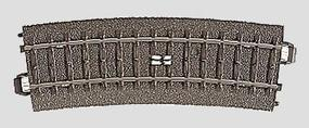 Marklin C Curved Circuit Track 17-1/4 HO Scale Nickel Silver Model Train Track #24294