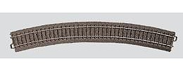 Marklin, Inc (bulk of 6) C Track - Curved 22-13/16'' -- HO Scale Nickel Silver Model Train Track -- #24430