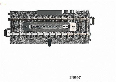 3 Rail C Track Electric Uncoupler Section Ho Scale