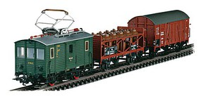 Marklin Digital cl ET 194 Powered Freight Rail Car Train Set - Exclusive DRG