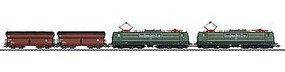 Marklin Heavy Coal Train-Only Set - 3-Rail German Federal Railroad DB HO Scale Model Triain Set #26593