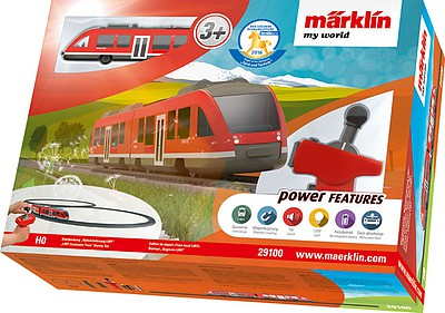 Marklin My World LINT Commuter Train Battery Starter Set