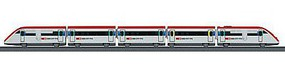 Marklin High-Speed Train Battery Operated Swiss ICN HO Scale Model Train Set #29303