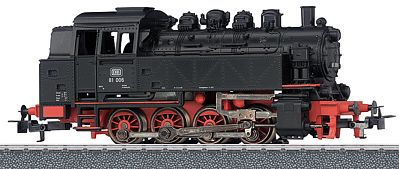 Marklin, Inc Class 81 0-8-0T 3-Rail German Federal Railroad DB -- HO Scale Model Train Steam Locomotive -- #36321