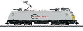 Marklin Bombardier Traxx Euro Cargo Rail Class E 186 HO Scale Model Train Electric Locomotive #36616