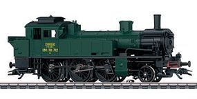 Marklin Class 130TB 2-6-0T Tank French State Railways HO Scale Model Train Steam Locomotive #36745