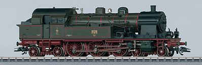 Marklin, Inc Class T18 4-6-4T Tank Royal Prussian State RR -- HO Scale Model Train Steam Locomotive -- #37077