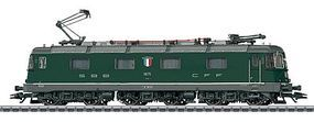 Marklin Class Re 6/6 f Swiss Federal Railways HO Scale Model Train Electric Locomotive #37324