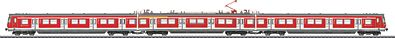 Marklin, Inc S-Bahn Electric Railcar Train German Railroad DB AG -- HO Scale Model Train Set -- #37506