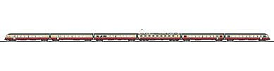 Marklin, Inc S-Bahn Class 420 Electric Railcar Train German Railroad -- HO Scale Model Train Set -- #37547