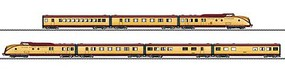 Marklin cl VT 11.5 Diesel Powered Rail Car Train TEE (Gold Plated Special Edition)